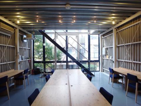 2Fのシェアオフィススペース
