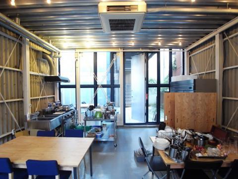 1Fのキッチンスタジオ